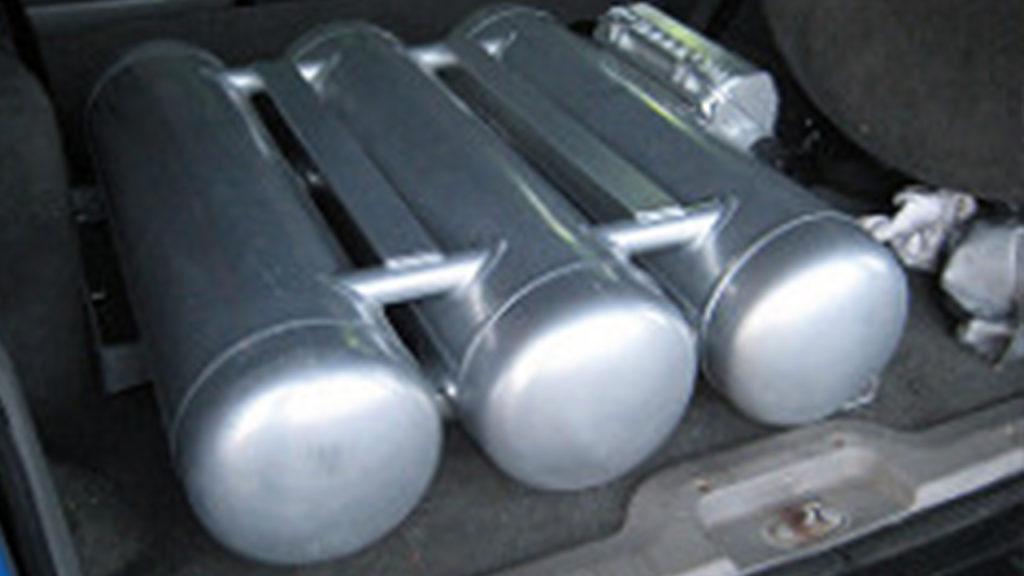 Lp gas regas
